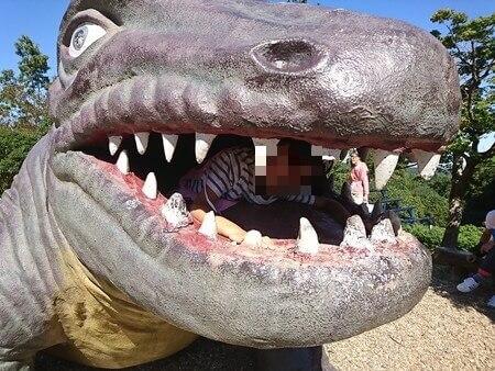 四日市スポーツランド なかよし広場 恐竜