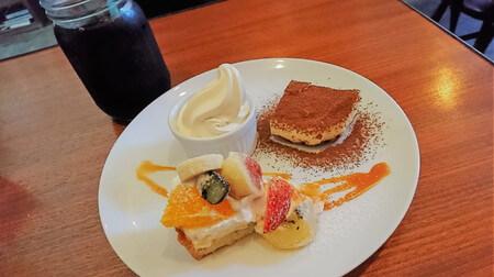 デザート盛り合わせ(ケーキ)