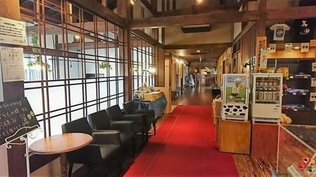 熊野の郷 廊下
