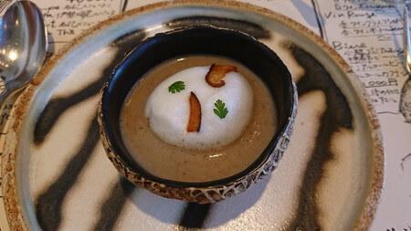カンパーニュ 椎茸のポタージュ