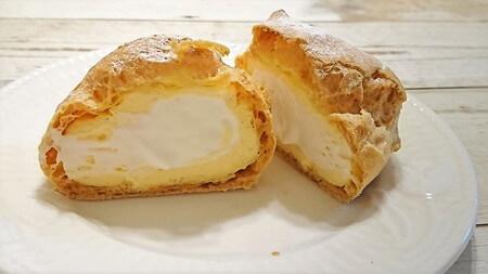 カンパーニュ シュークリーム