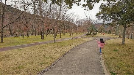 宮リバー度会パーク 遊歩道