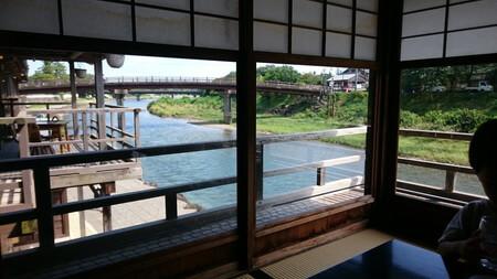 五十鈴川カフェからの景色