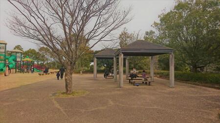 大仏山公園(多目的広場)ベンチ