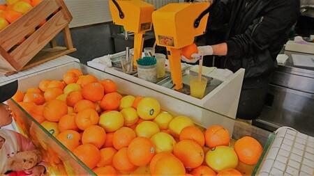 まるごと果汁店 オレンジジとグレープフルーツ