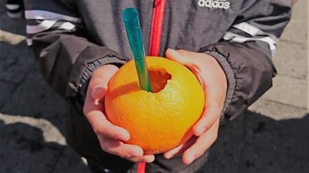 まるごと果汁店 オレンジジュース