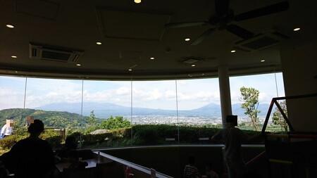 フードコートからの富士山