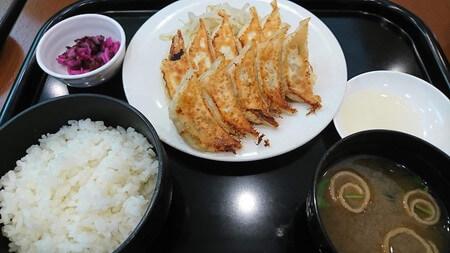 石松餃子 餃子定食