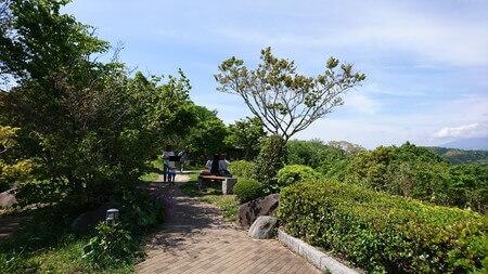 富士川SA下り 散歩道