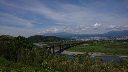 富士川SA下り 富士山