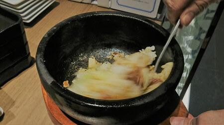 春限定コース 山形牛時雨煮と筍の石焼ご飯~ひつまぶし風~