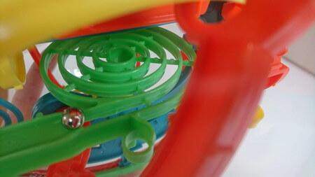 立体迷路(マジカルカプセル)渦巻き
