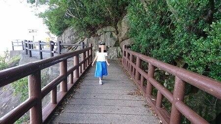 鬼ヶ城 遊歩道の橋