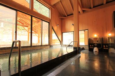 湯ノ口温泉 内風呂