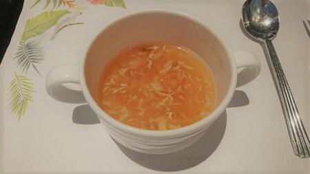 セリーナランチバイキング 中華スープ