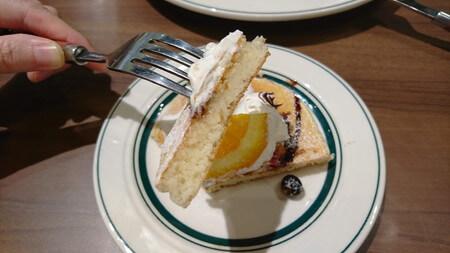 パンケーキ断面図