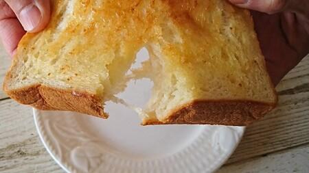 銀座の食パン~香り 割っていく
