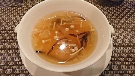 彩龍 彩ランチ 干し貝柱入りとろみスープ