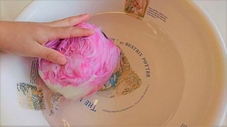 フーアーユーをぬるま湯で洗う