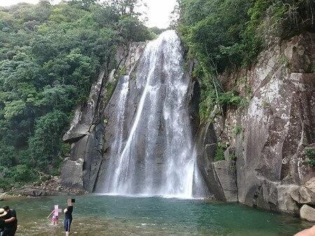 飛雪の滝 滝つぼ