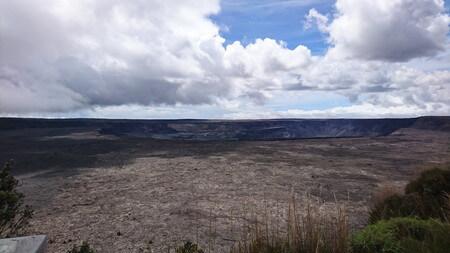 ハワイ火山国立公園 キラウエアカルデラ