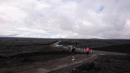 マウナウル展望台からの景色