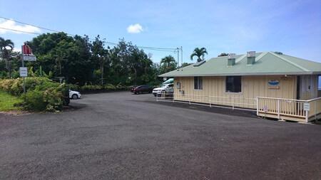 ハワイUCCコーヒー農園 駐車場