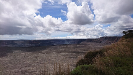 キラウエアカルデラとハレマウマウ火口
