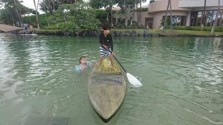 ラグーン ボートで遊ぶ