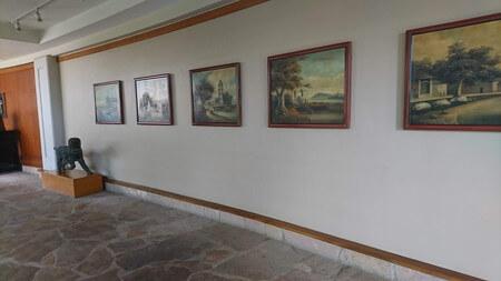 ヒルトンワイコロアビレッジ 廊下