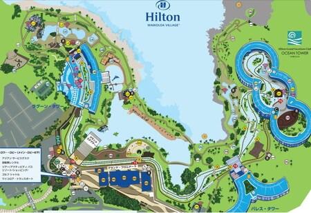 ヒルトンワイコロアビレッジ 地図