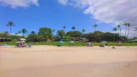 ハプナビーチ 砂浜