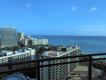 ザグランドアイランダー 26階からの海の景色