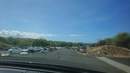 ハプナビーチ 駐車場