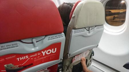 エアアジア 座席
