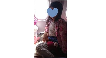 エアアジア 子供の機内での服装
