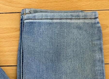 H&M スキニーデニム 縫製