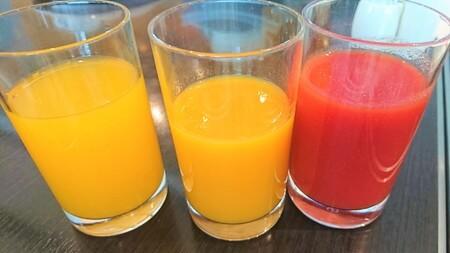 こだわりのジュース3種類