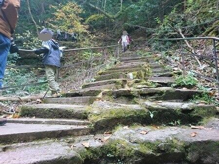 赤目四十八滝 階段