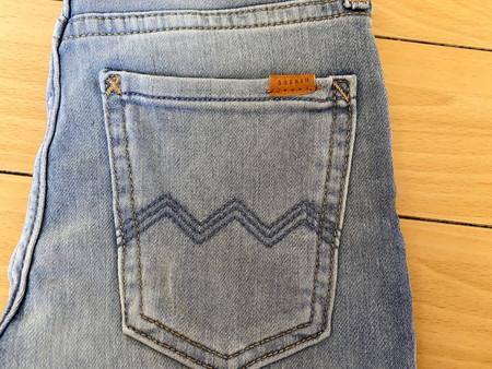 H&M スキニーデニム 後ろポケット