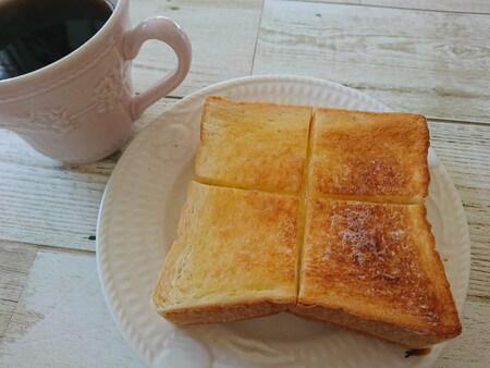 乃が美 トーストした食パン