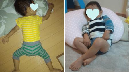赤ちゃんボディースーツ