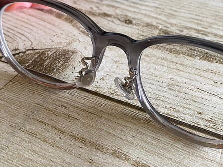 眼鏡の鼻の部分