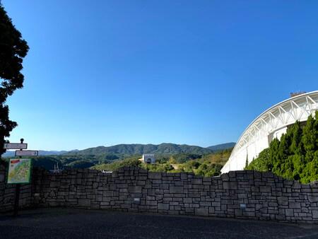 志摩スペイン村からの景色