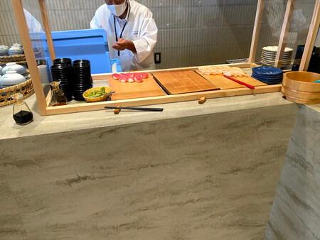 ホテルシーモア バイキング 寿司