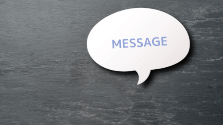 黒板 メッセージ